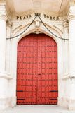 Entrance to the Bullring, Seville Royalty Free Stock Images