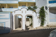 Entrance to burgau beach hotel Stock Photography