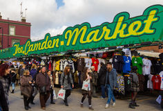 Entrance to Camden Market Royalty Free Stock Photography