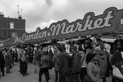 An Entrance to Camden Market Stock Photography