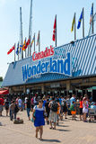 Entrance to Canada's Wonderland Stock Images