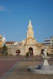 Entrance to Cartagena de Indias Stock Images