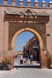 Entrance to the casbah Royalty Free Stock Photo