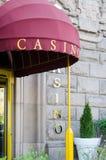 Entrance to a casino, Sofia, Bulgaria Royalty Free Stock Photography
