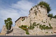 Entrance to Castiglione del Lago Stock Image