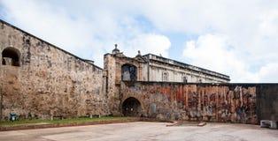 Entrance to Castillo de San Cristobal Stock Photos