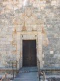 Entrance To Castillo de San Nicolas, Ciutadella Royalty Free Stock Photography
