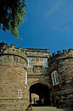 Entrance to the castle royalty free stock images