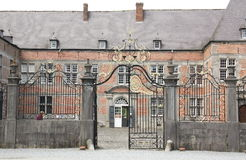 Entrance to the Castle of Freyr Stock Image