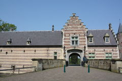 The entrance to the Castle Heeswijk stock photos