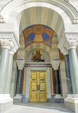 Entrance to Cathedral 4 admirals in Sevastopol Stock Image
