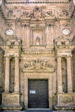 Entrance to the Cathedral of the Incarnation in Almeria Spain Royalty Free Stock Photo