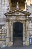 Entrance to Cathedral stock image
