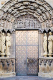 Entrance to Cathedral of Trier Royalty Free Stock Photography