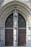 Entrance to the Catholic Cathedral of Jakarta Royalty Free Stock Photography