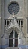Entrance to the Catholic Cathedral of Jakarta Royalty Free Stock Photo