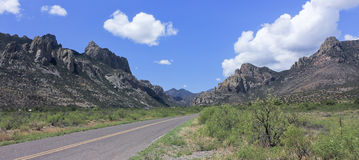 An Entrance to Cave Creek, Chiricahua Mountains Stock Photo