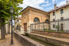 Entrance to Certosa of Pavia Stock Photo