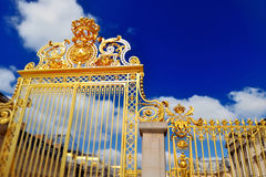 Entrance to the Château de Versailles Royalty Free Stock Images