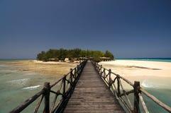 Entrance to Changuu paradise island Royalty Free Stock Photography