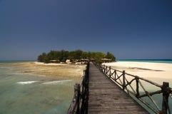 Entrance to Changuu paradise island Royalty Free Stock Image