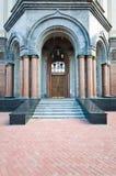 Entrance to chapel Royalty Free Stock Photo