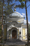 Entrance to the chapel of St. Gerasimos of the Vologda in city Vologda Stock Photography