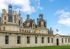 Entrance to the chateau Chambord Royalty Free Stock Image