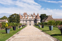 Chateau Monbazillac Royalty Free Stock Image