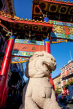 Entrance to Chinatown, Victoria, BC Royalty Free Stock Image