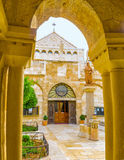 The entrance to the church Royalty Free Stock Images