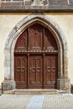 Entrance to the Church Royalty Free Stock Photography