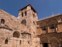 The entrance to the Church of the Holy Sepulchre.  Jerusalem, Royalty Free Stock Photos