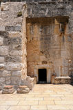 Entrance to the Church of the Nativity in Bethlehem. Palestine Royalty Free Stock Image