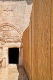 Entrance to the Church of the Nativity in Bethlehem Royalty Free Stock Photos