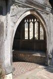 Entrance to Church. Shoreham. Kent. England Royalty Free Stock Image