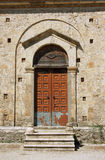 The entrance to the church in Zakynthos Royalty Free Stock Photo