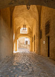 Entrance to the citadel in Calvi, Corsica Royalty Free Stock Photography