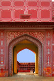 Entrance to City Palace, Jaipur, Royalty Free Stock Image