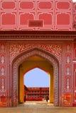 Entrance to City Palace, Jaipur, India Royalty Free Stock Photography