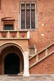 Collegium Maius. Entrance to Collegium Maius in  Jagiellonian University campus,  Krakow, Poland Royalty Free Stock Photography
