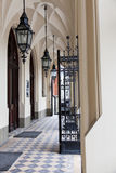 Entrance to Jagiellonian University in Krakow Royalty Free Stock Image