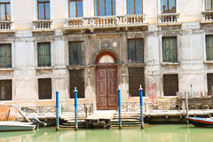 Entrance to the courthouse in Venice, Italy Stock Photography