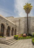 Entrance to Courtyard in Arequipa, Peru. Stock Images
