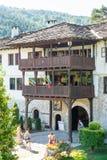 Entrance to the courtyard of the monastery of Troyan, Bulgaria Stock Photos