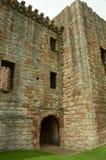 Entrance to Crichton castle Stock Photos
