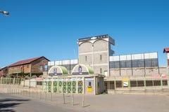 Entrance to the cricket stadium in Bloemfontein