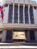 Entrance to Crimean State Council building Royalty Free Stock Photography