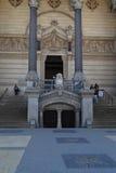Entrance to the crypt Stock Photos