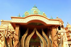 Entrance to Cultural Gully inside Kingdom Of Dreams Royalty Free Stock Photos